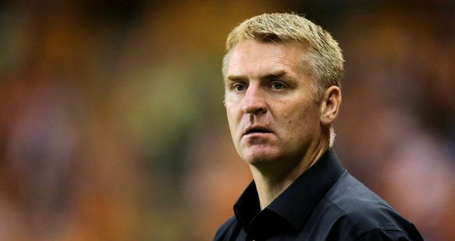Dean Smith: Backing his side