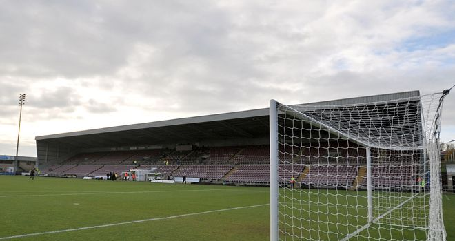 A man was detained during Coventry's draw with Crawley at Sixfields Stadium