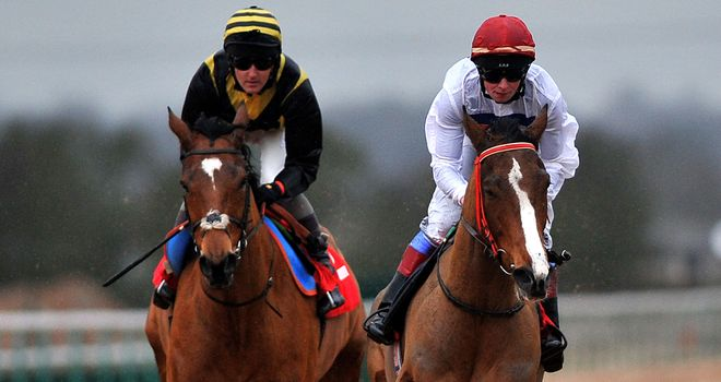 Stand Guard (left): Equalled the record