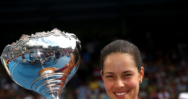 Ana Ivanovic: Claimed first WTA title in over two years