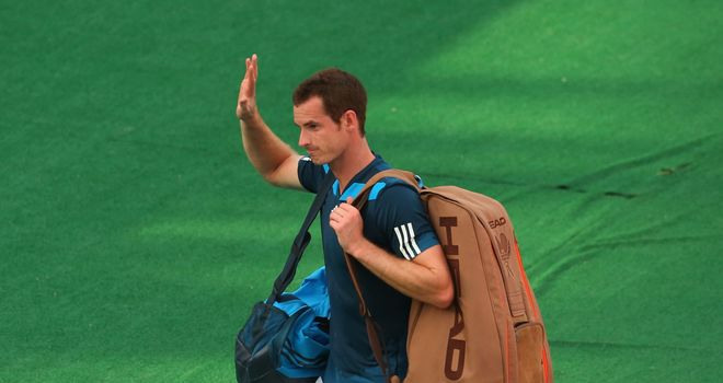 Andy Murray: Lost to Lleyton Hewitt in his last match before the Australian Open