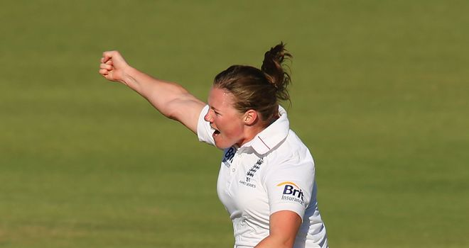 Anya Shrubsole: Finished with 4-51 as England restricted Australia to 207