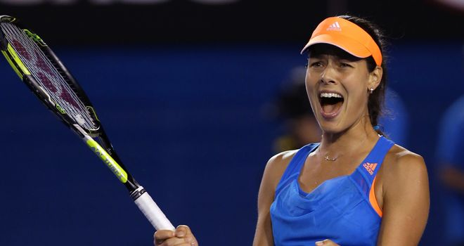 Ana Ivanovic: Victory in straight sets