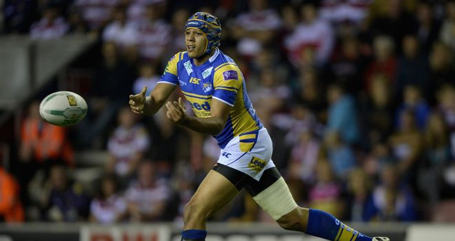 Ben Jones-Bishop: Leeds Rhinos wing is entering the final year of his contract