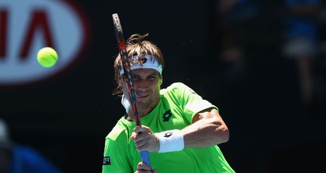 David Ferrer: Was too good for Jeremy Chardy