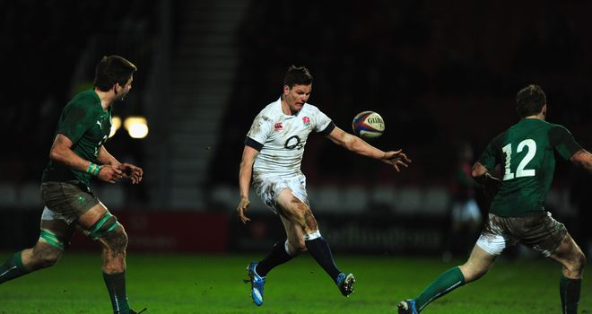 Freddie Burns: Staying with Saxons squad