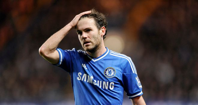 Juan Mata: Set to complete Manchester United move