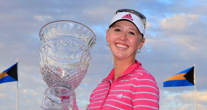 Jessica Korda: American triumphs in Bahamas