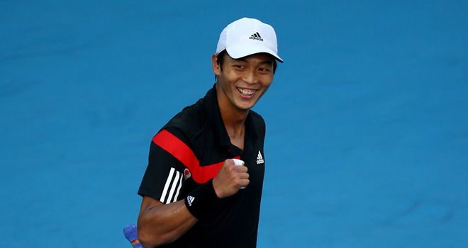 Lu Yen-hsun: Stunned top seed David Ferrer