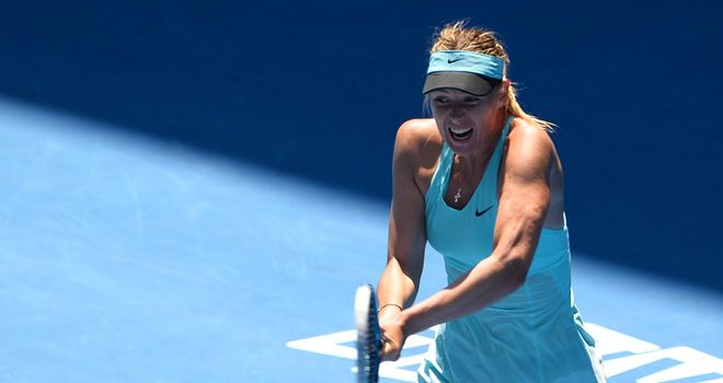 Maria Sharapova: First match since Australian Open exit