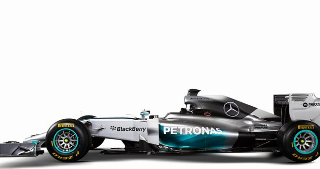 The new Mercedes W05