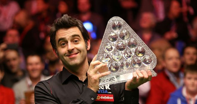 Ronnie O'Sullivan beat Mark Selby 10-4 to claim his fifth Masters title