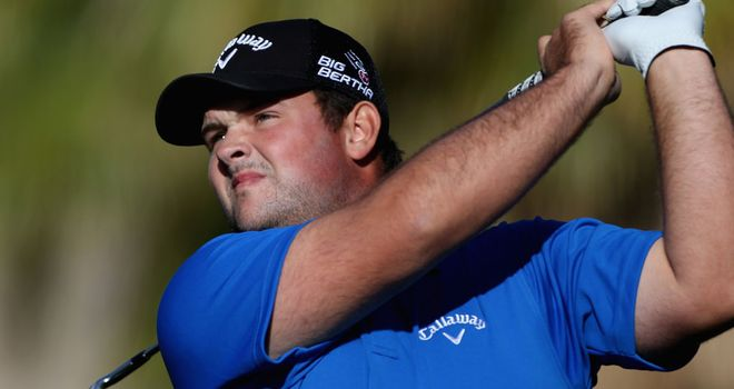 Patrick Reed: A third successive 63, all on different courses