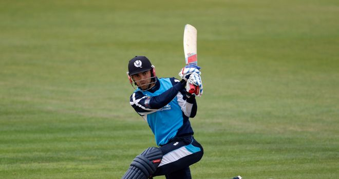 Preston Mommsen: Superb innings for Scotland