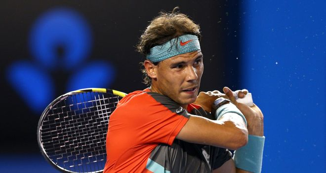 Rafael Nadal was too strong for Thanasi Kokkinakis