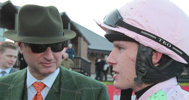 Paul Townend: Escaped serious injury in fall