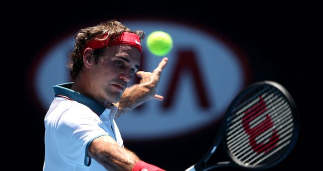 Roger Federer: Came through his opening round match in straight sets