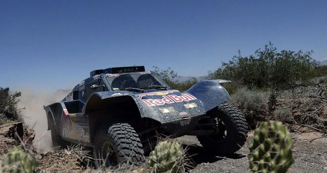 Carlos Sainz: The SMG Buggy driver won stage four on Wednesday
