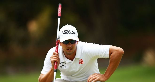 Adam Scott: World No 2 will sit out the WGC-Accenture Match Play next month
