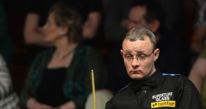 Martin Gould: failed to repeat last year's Snooker Shoot-out heroics