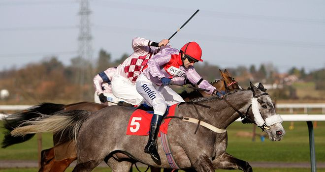 Andrew Thornton: On target at Southwell