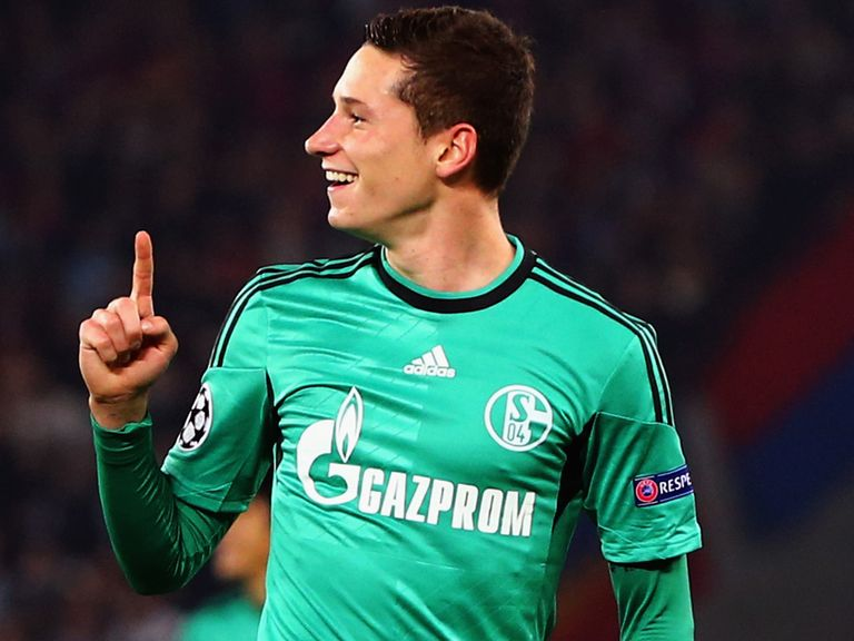 Julian Draxler: Expected to move from Schalke in the summer
