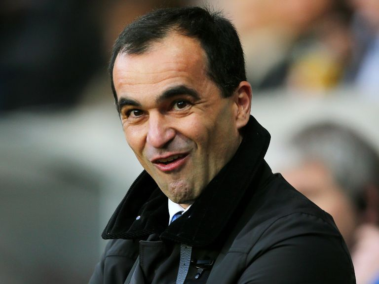 Roberto Martinez: Looking to sign a striker