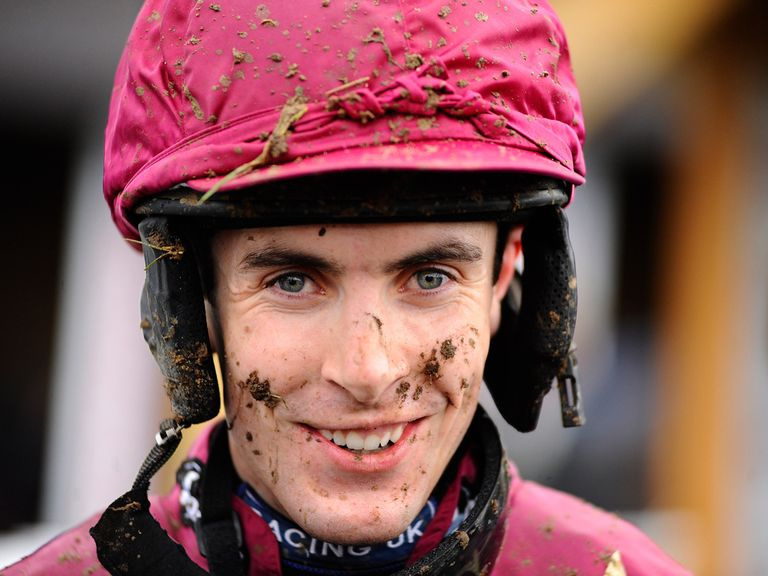 Aidan Coleman: In the winner's enclosure on Toubeera