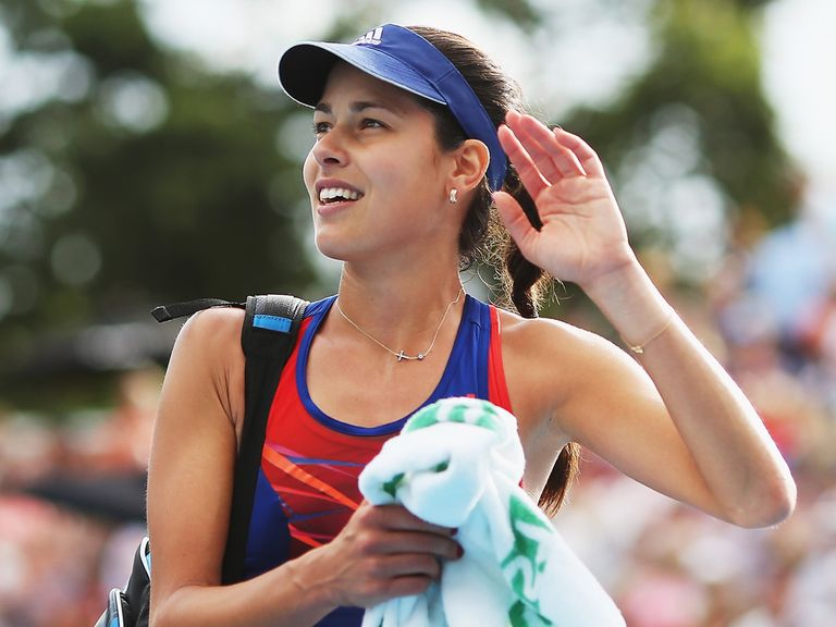 Ana Ivanovic: Through to Auckland final