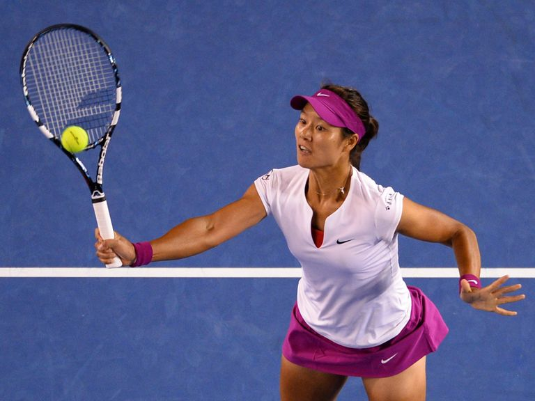 Li Na: Made to work for her second-round win