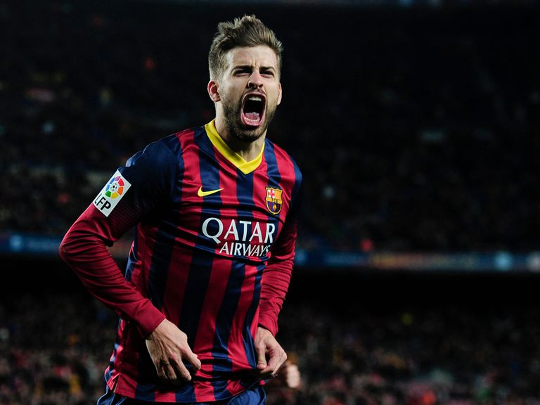 Gerard Pique: Opened the scoring for Barcelona