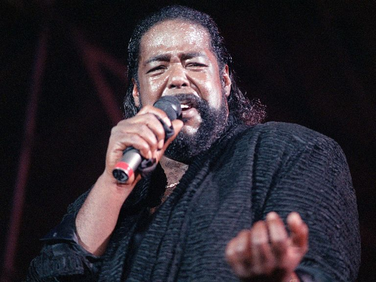 Barry White: Provided the soundtrack to a winning weekend