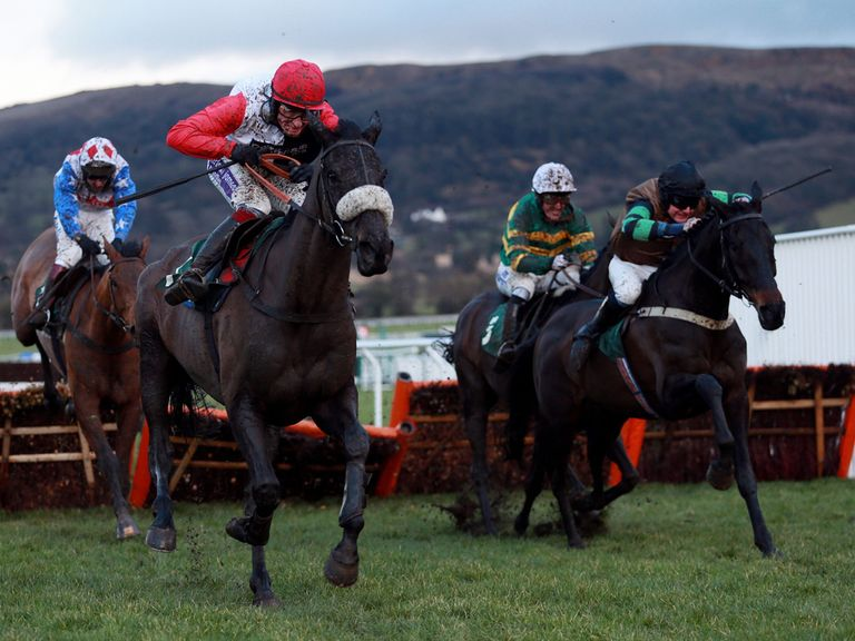Big Buck's is as big as 3/1 for the World Hurdle