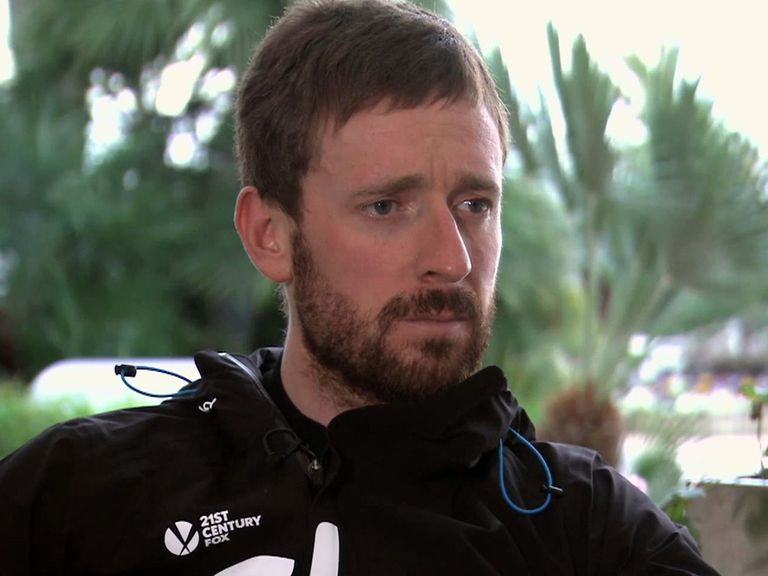 Bradley Wiggins: Unable to defend his Tour de France title in 2013