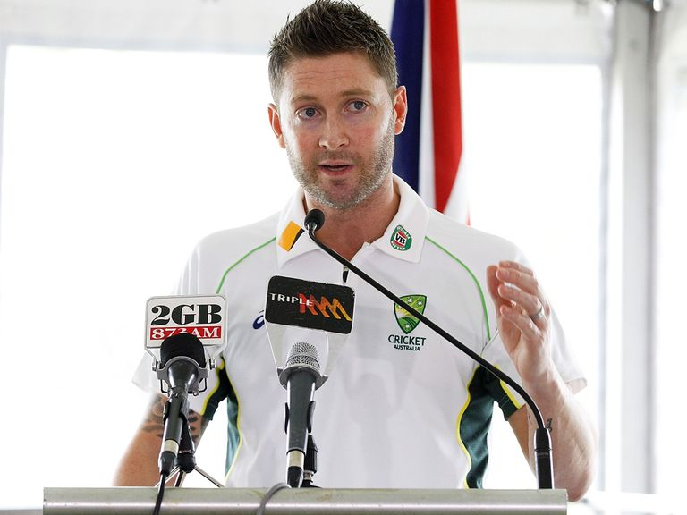 Michael Clarke: Determined to inflict a whitewash on England