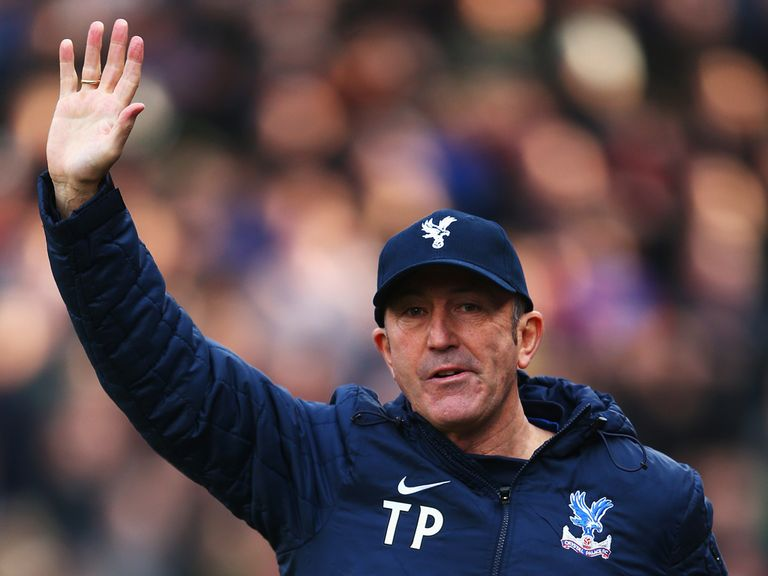 Tony Pulis: Says he's going nowhere