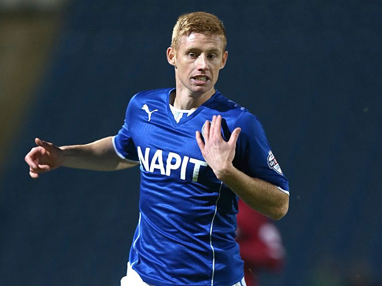 Eoin Doyle: Found the net for Chesterfield