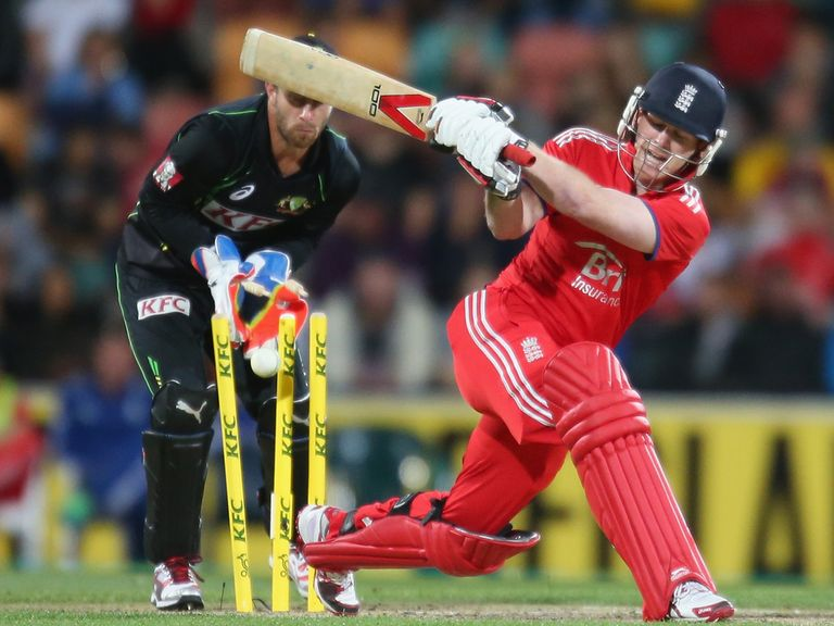 Eoin Morgan: Does not believe England lack six-hitting power