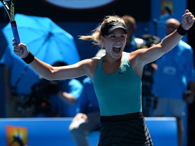 Bouchard: Now dining at tennis' top table