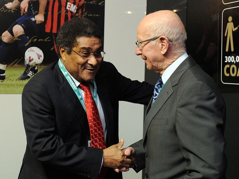Eusebio: Hailed by Charlton