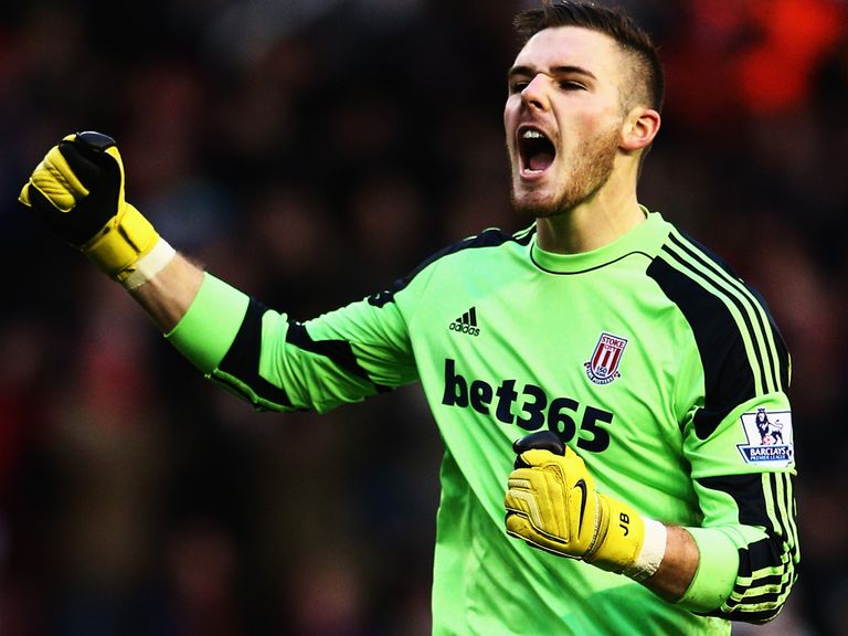 Jack Butland: Joined Stoke from Birmingham