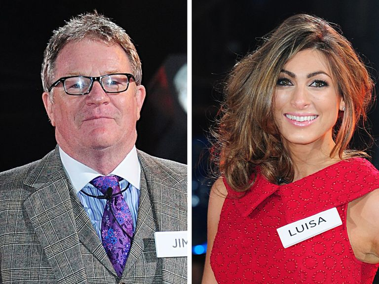 Jim Davidson could be run close by Luisa Zissman