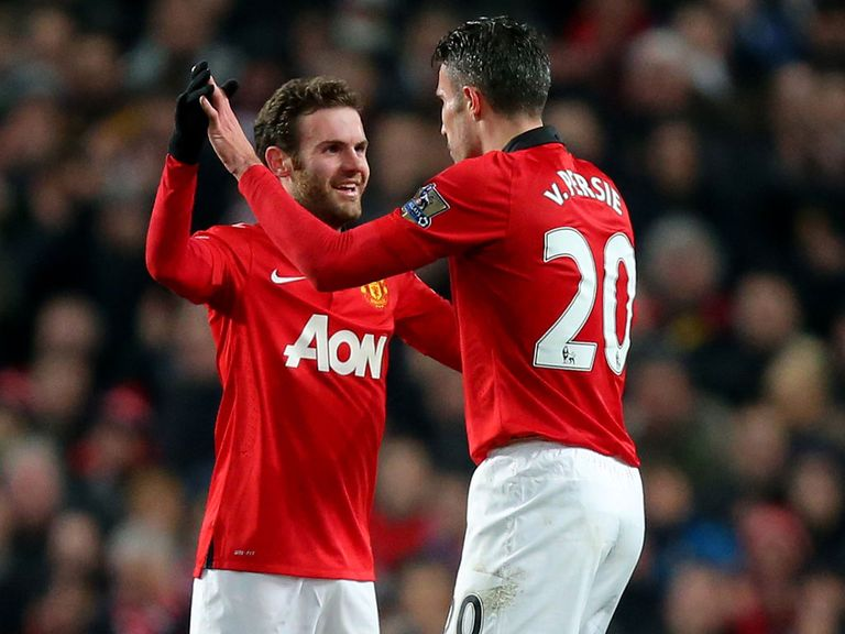 Mata and Van Persie expected to link up to good effect