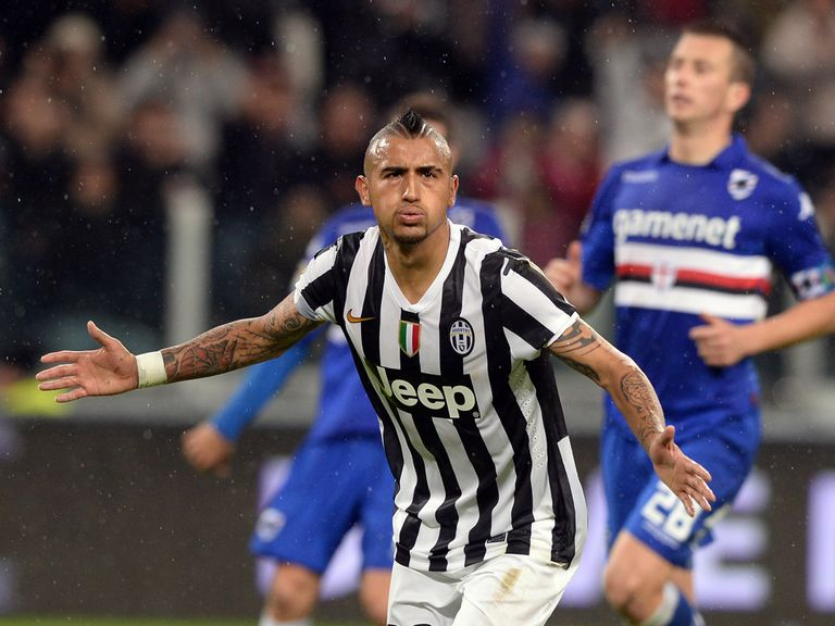 Arturo Vidal: Happy to stay at Juventus