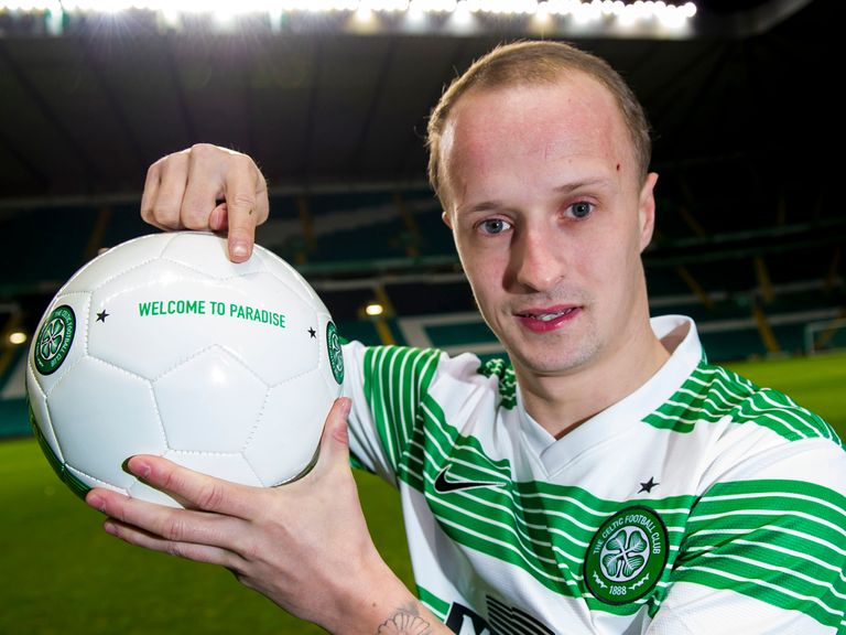 Leigh Griffiths: Joined Celtic on deadline day