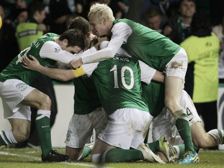 Hibs can celebrate an important victory