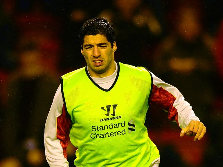 Luis Suarez: Heading to Northern Ireland