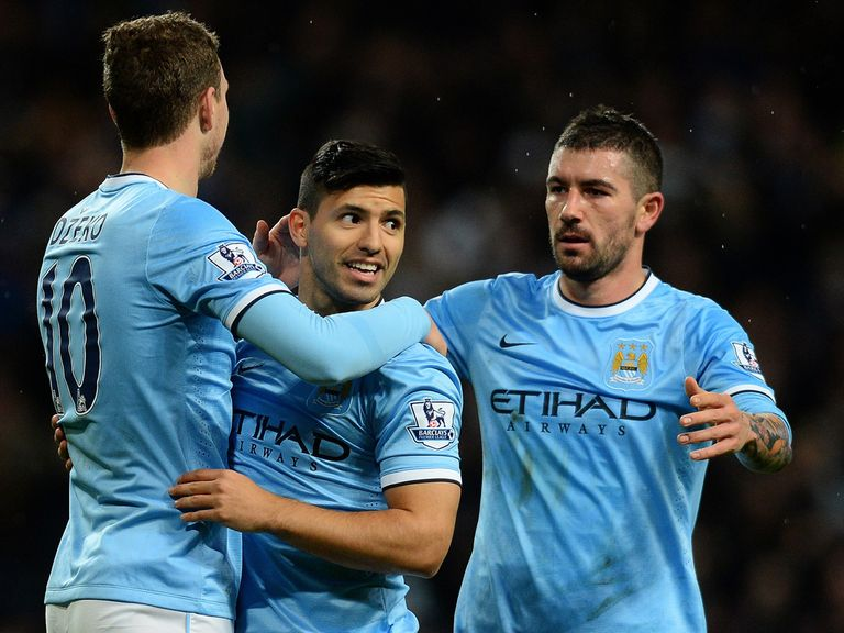 Sergio Aguero: Looking forward to Barcelona clash