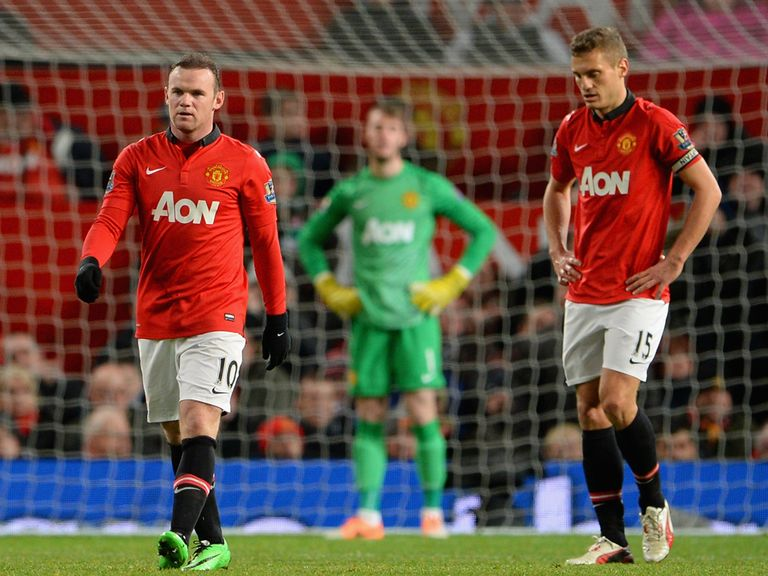 Manchester United lost 2-1 to Tottenham on New Year's Day.