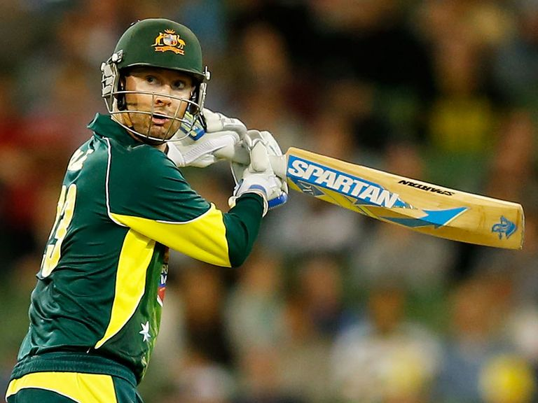 Michael Clarke: Rested for defeat in Perth